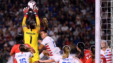 Christiane Endler, the Chile keeper who is opening doors for other