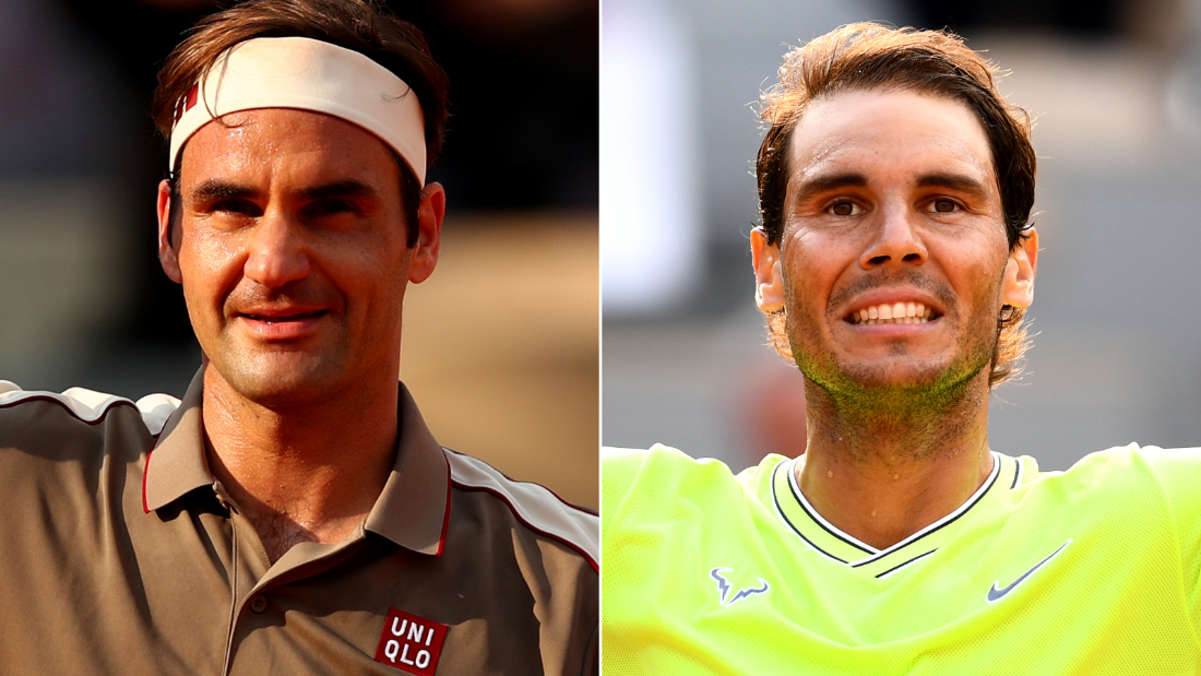 Federer and Nadal will meet in Paris for the first time since 2011.