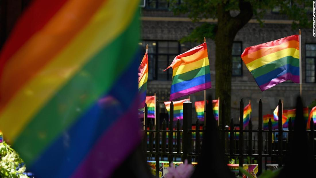 Support for same-sex marriage reaches record high in US poll shows – CNN