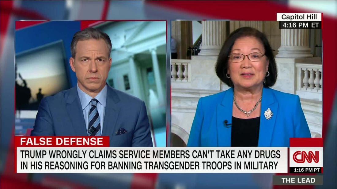 House votes to block funding for Trump's transgender military ban