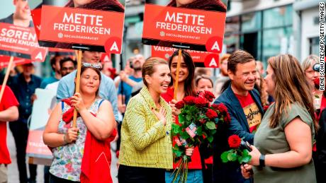Mette Frederiksen from The Danish Social Democrats is on course to become the Nordic country's youngest Prime Minister.