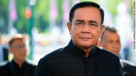 Thailand's Prime Minister Prayuth Chan-ocha arrives to a weekly cabinet meeting, at Government House in Bangkok, Thailand, June 4, 2019.
