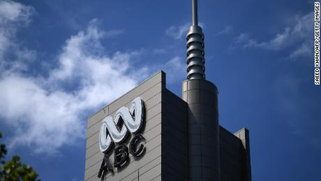 Police raided Australia's national broadcaster on Wednesday.
