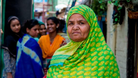 Kishwar Jahan said cleaning the slum is a community effort and everyone needs to be responsible.