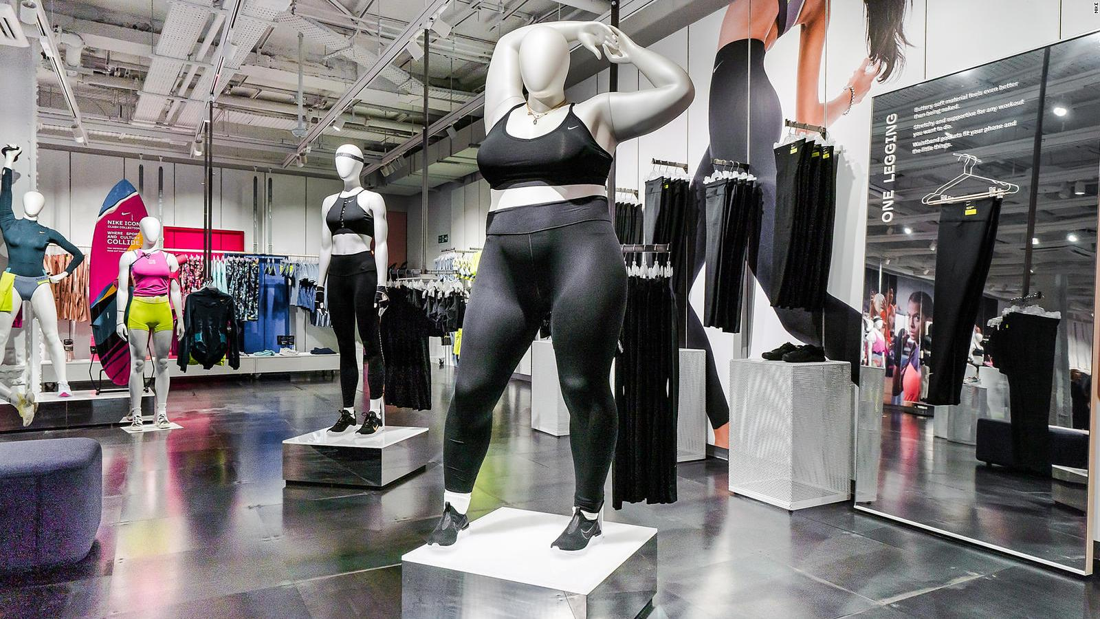 Nike Introduces Plus Size And Para Sport Mannequins To London Store Cnn Style