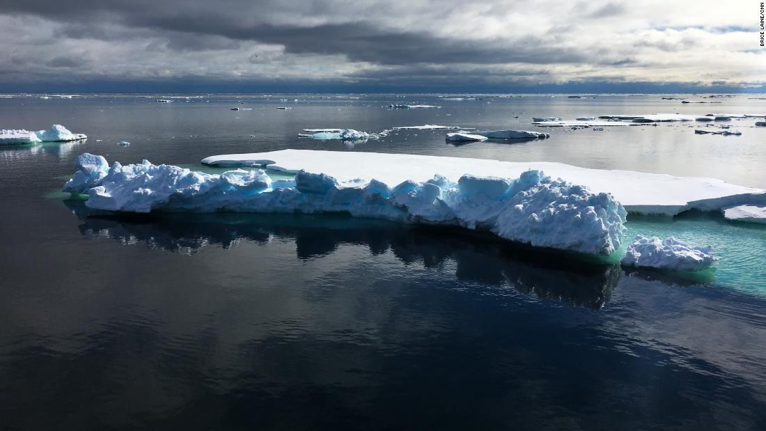 Arctic melt: Threat beneath the ice