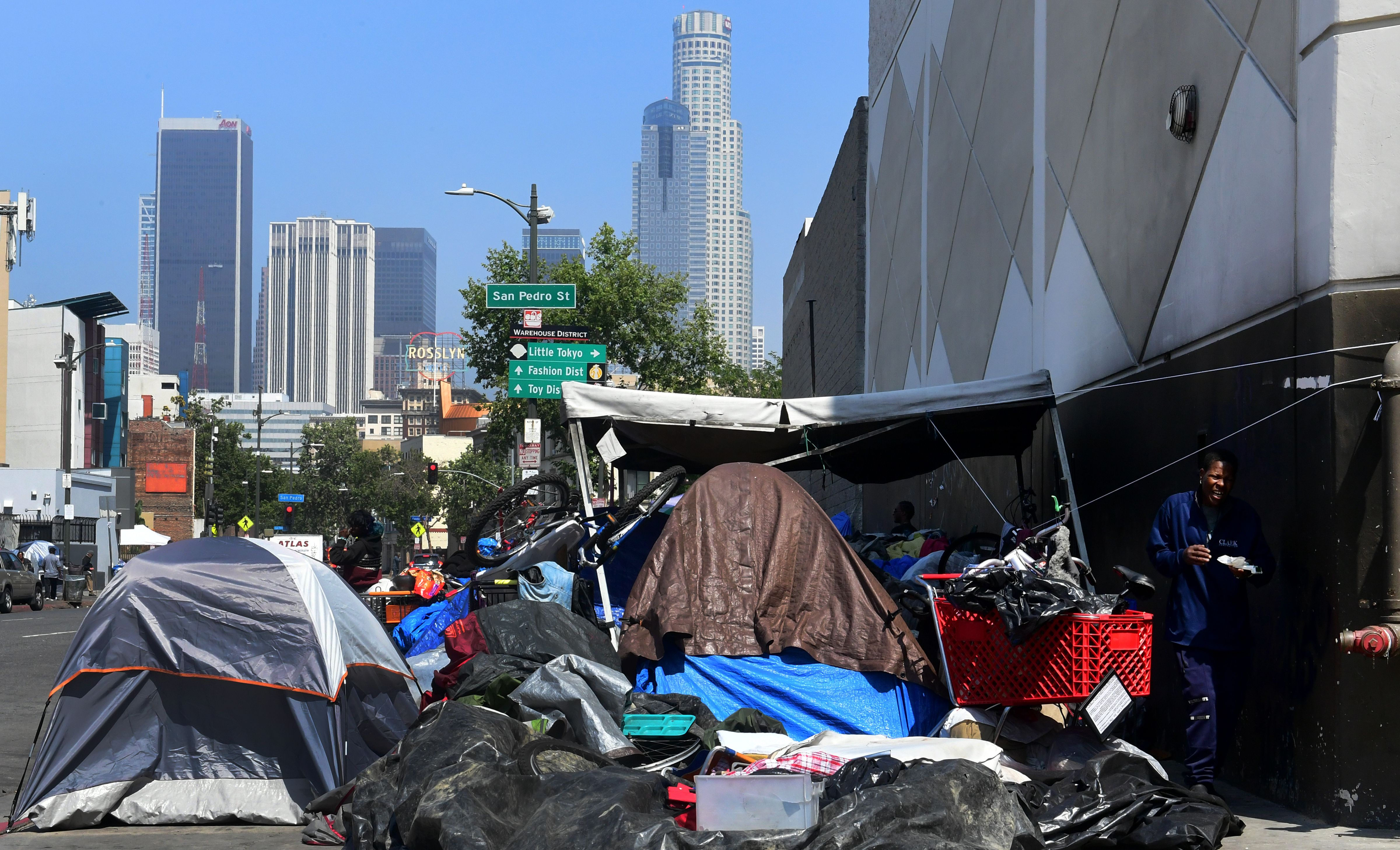 Streets full of tents: The other side of L.A. - CNN Video