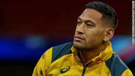 Israel Folau was expected to represent Australia at this year's World Cup.