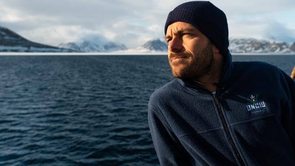 Polar physicist Till Wagner.