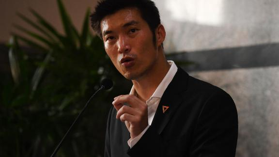Future Forward Party leader Thanathorn Juangroongruangkit  before the parliamentary vote for Thailands new prime minister in Bangkok in June 5, 2019.
