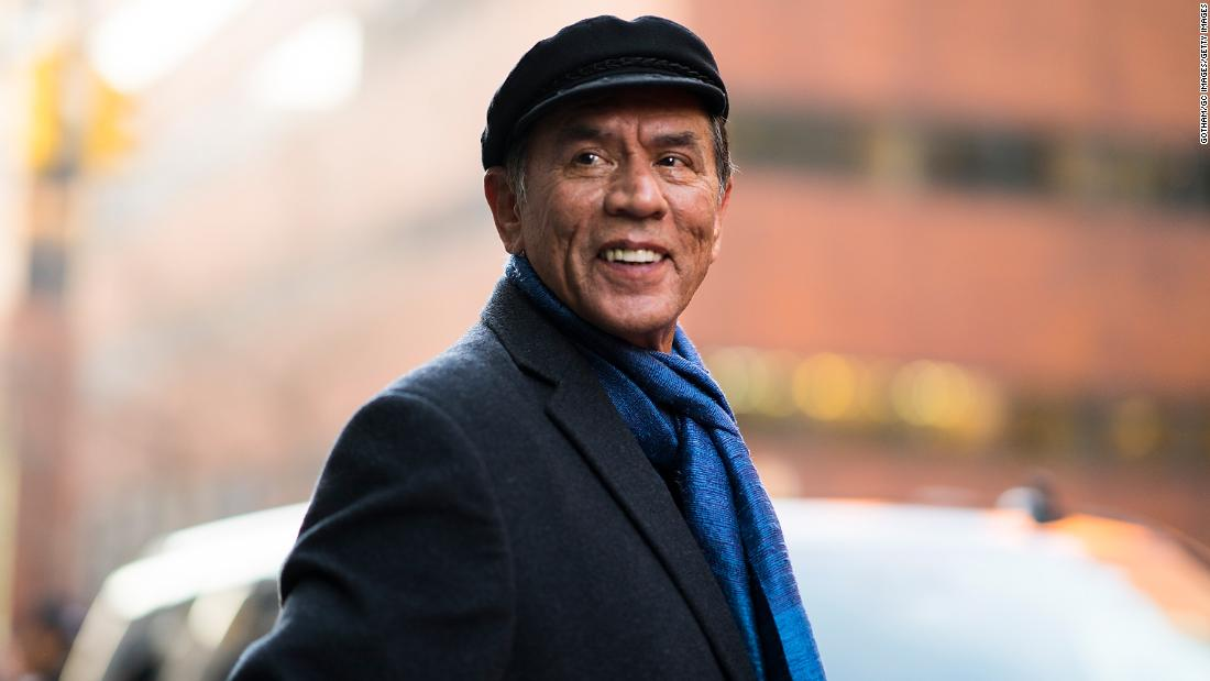 Wes Studi will become the first Native American actor to receive an Oscar