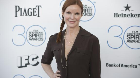 Marcia Cross arrives at the 2015 Independent Spirit Awards on February, 21, 2015, in Santa Monica, California.