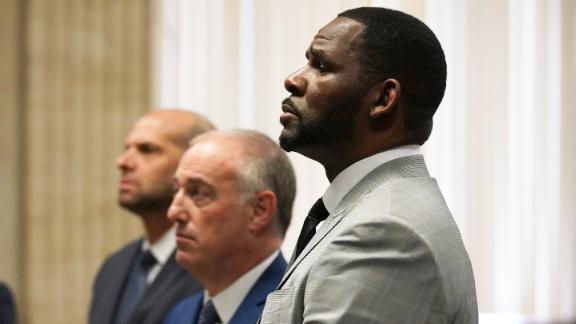 R. Kelly makes a court appearance on Thursday, June 6.