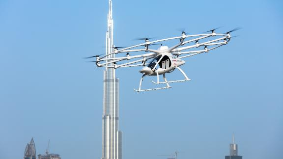 The Volocopter might look like something out of a futuristic sci-fi movie ... but the future is closer than you think.