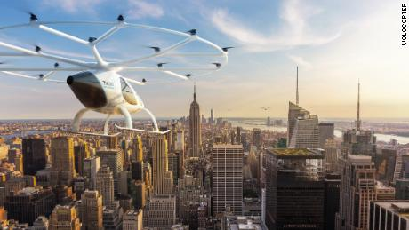 The Volocopter revolutionizes green travel