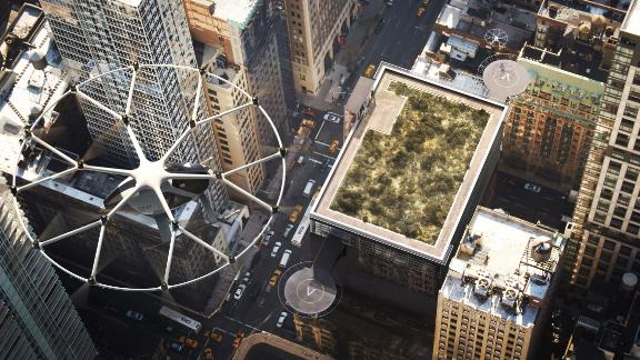 In simple terms, it's an eco-friendly flying taxi!