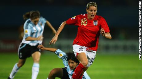 Smith scored 46 goals for England.