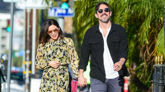 LOS ANGELES, CA - MARCH 16: Jenna Dewan and Steve Kazee are seen on March 16, 2019 in Los Angeles, California.  (Photo by gotpap/Bauer-Griffin/GC Images)