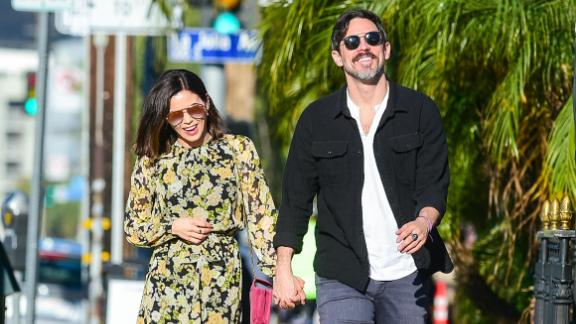 Jenna Dewan and boyfriend Steve Kazee announced in September that they're expecting their first child together. Dewan shares a daughter, Everly, with ex-husband Channing Tatum.