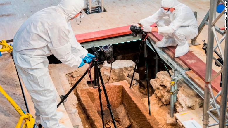 1,000-year-old sarcophagus opened in Germany