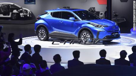 Toyota aggressively sets new target for electrified cars