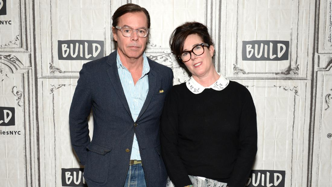 Kate Spade's husband posts moving tribute to the late designer