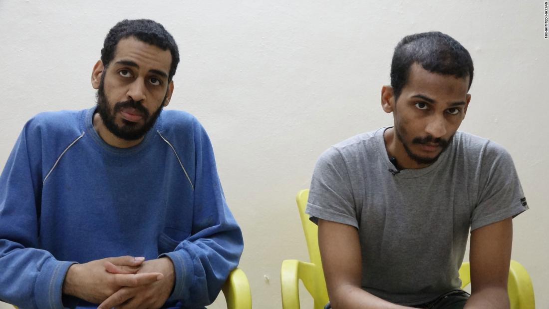 US takes members of British ISIS cell accused of killing Americans into custody thumbnail
