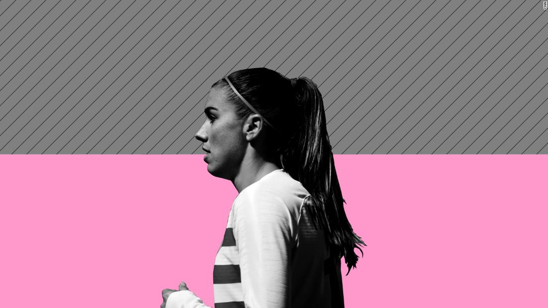 Alex Morgan divides opinion with tea-drinking celebration