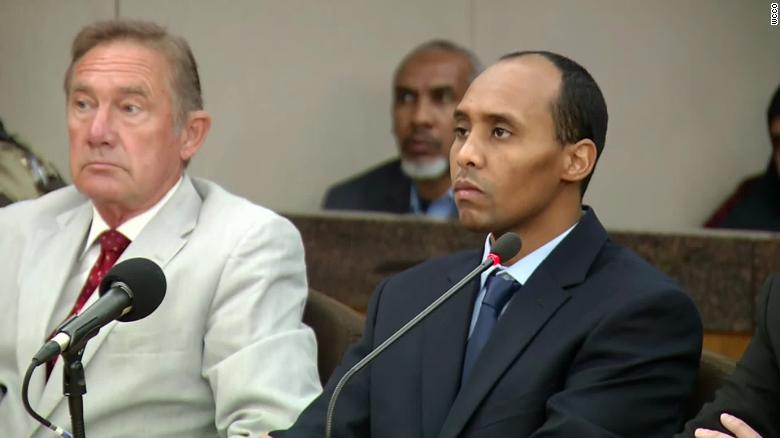 Former Minneapolis police officer Mohamed Noor resentenced to 4 years and 9 months in prison for fatal 2017 shooting