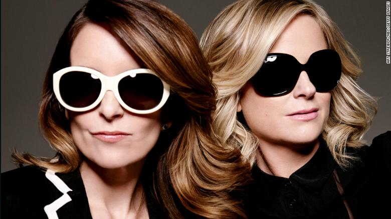 Image result for Tina Fey and Amy Poehler will be back to host the 2021 Golden Globes