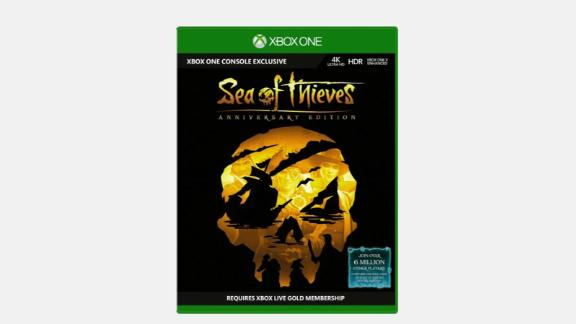 """Prove yourself in contests of treasure hunting and seafaring, or embark on a voyage to explore the world of pirates with your trusty crew. <strong>Sea of Thieves: Anniversary Edition ($29.99, originally $59.99; </strong><a href=""""https://click.linksynergy.com/deeplink?id=Fr/49/7rhGg&mid=24542&u1=0607xboxe32019&murl=https%3A%2F%2Fwww.microsoft.com%2Fen-us%2Fp%2Fsea-of-thieves-anniversary-edition-for-xbox-one%2F90zgp7jd17sq%3Fcid%3Dmsft_web_collection%26activetab%3Dpivot%253aoverviewtab"""" target=""""_blank"""" target=""""_blank""""><strong>microsoft.com</strong></a><strong>)</strong><br />"""