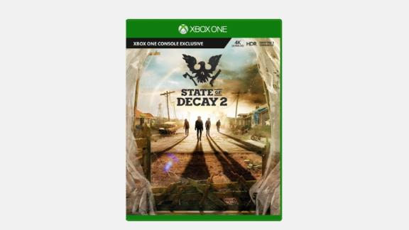"""How will you survive the apocalypse? <strong>State of Decay 2 ($14.99, originally $29.99; </strong><a href=""""https://click.linksynergy.com/deeplink?id=Fr/49/7rhGg&mid=24542&u1=0607xboxe32019&murl=https%3A%2F%2Fwww.microsoft.com%2Fen-us%2Fp%2Fstate-of-decay-2-for-xbox-one%2F8p2fgp3bf0fc%3Fcid%3Dmsft_web_collection%26activetab%3Dpivot%253aoverviewtab"""" target=""""_blank"""" target=""""_blank""""><strong>microsoft.com</strong></a><strong>)</strong>"""