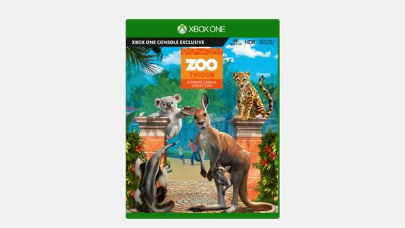 """Create your very own zoo with nearly 200 kinds of animals. <strong>Zoo Tycoon: Ultimate Animal Collection ($14.99, originally $29.99; </strong><a href=""""https://click.linksynergy.com/deeplink?id=Fr/49/7rhGg&mid=24542&u1=0607xboxe32019&murl=https%3A%2F%2Fwww.microsoft.com%2Fen-us%2Fp%2Fzoo-tycoon-ultimate-animal-collection-for-xbox-one%2F92rq643b42k9%3Fcid%3Dmsft_web_collection%26activetab%3Dpivot%253aoverviewtab"""" target=""""_blank"""" target=""""_blank""""><strong>microsoft.com</strong></a><strong>)</strong><br />"""