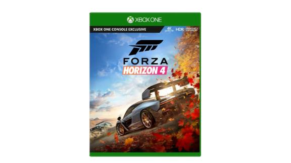 """Become a Horizon Superstar in Forza Horizon 4 and collect over 450 cool cars. <strong>Forza Horizon 4 ($29.99, originally $59.99; </strong><a href=""""https://click.linksynergy.com/deeplink?id=Fr/49/7rhGg&mid=24542&u1=0607xboxe32019&murl=https%3A%2F%2Fwww.microsoft.com%2Fen-us%2Fp%2Fforza-horizon-4-for-xbox-one%2F8xmz4zzx5jt8%3Fcid%3Dmsft_web_collection%26activetab%3Dpivot%253aoverviewtab"""" target=""""_blank"""" target=""""_blank""""><strong>microsoft.com</strong></a><strong>)</strong><br />"""