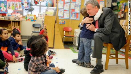 Bill de Blasio: Public pre-K programs changed my children's lives. Other American families deserve the same