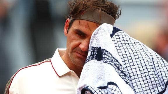 Although Federer had won his last five matches against Nadal overall, he slipped to 2-14 against the Spaniard on clay.