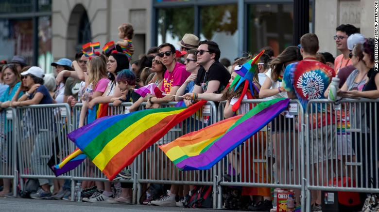 Funny Snowflakes: DC Pride Parade marchers injured after panic caused by noises mistaken for gunshots 190608204242-dc-pride-parade-0608-restricted-exlarge-169