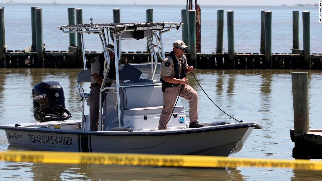 Searchers find body of Texas police chief knocked overboard from fishing boat
