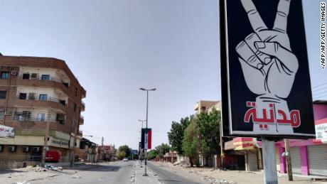 Sudan opposition group calls for 'civil disobedience' following protest crackdown