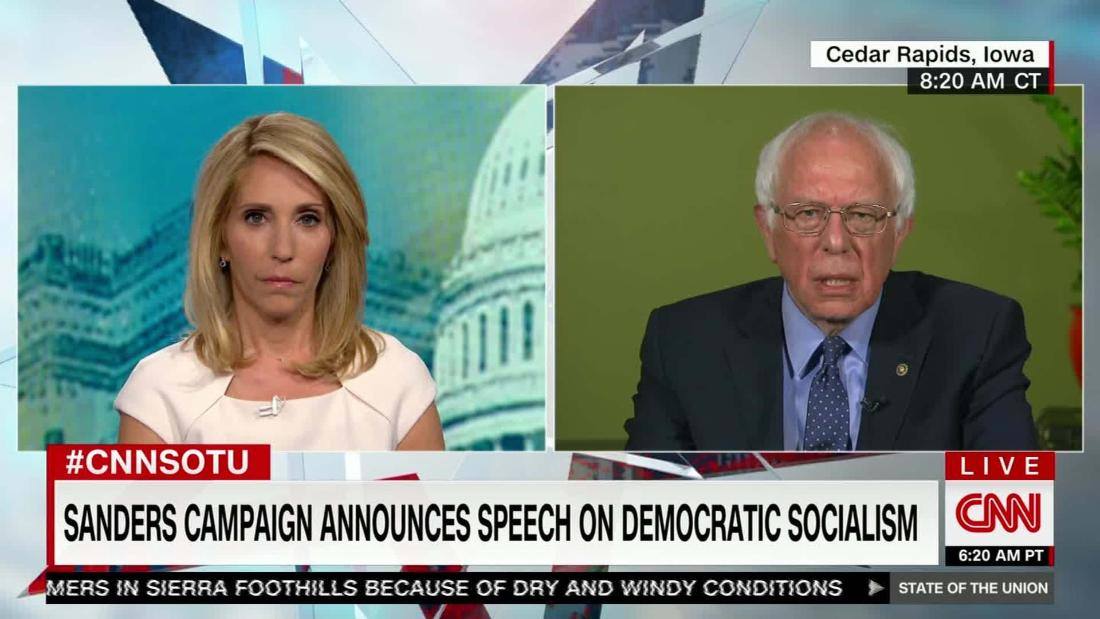 Bernie Sanders tries to go mainstream(ish)