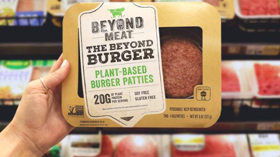 Beyond Meat sales continue to increase.