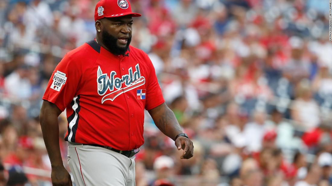 9557d6d58 David Ortiz: Boston Red Sox picks up the legendary slugger by plane after  he was shot in the Dominican Republic - CNN