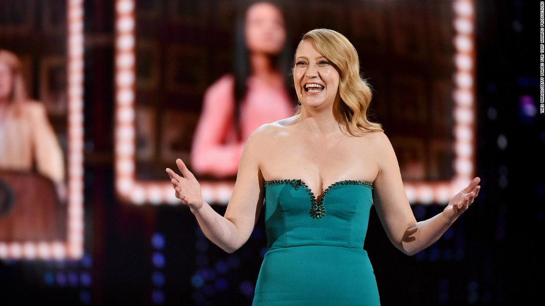 Heidi Schreck was nominated for best performance by an actress in a leading role in a play and best play.