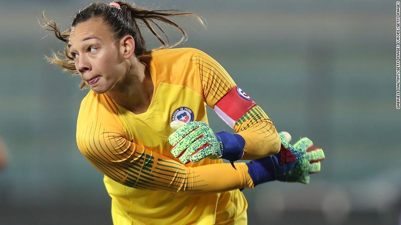 Best Goalkeepers World Cup 2020 Christiane Endler, the Chile keeper who is opening doors for other
