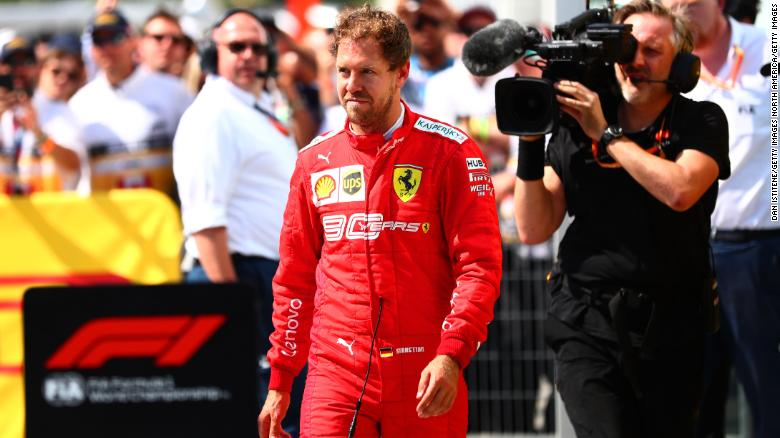 Sebastian Vettel will join Aston Martin Formula One team from 2021