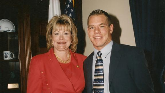 Swalwell was an intern for US Rep. Ellen Tauscher in 2001 and 2002.