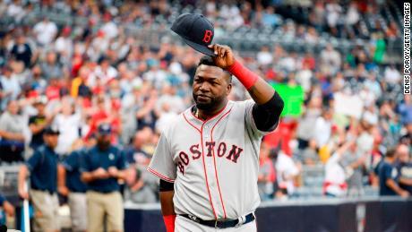 David Ortiz Boston Red Sox Picks Up The Legendary Slugger By Plane