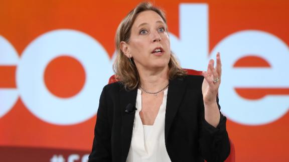 Susan Wojcicki at the Code Conference 2019