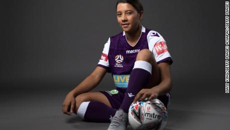 Kerr is the all-time leading scorer in both the W-League and the NWSL.