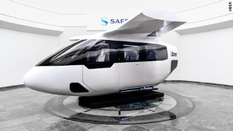 Helicopter crashes can not stop Uber's dream of flying cars.